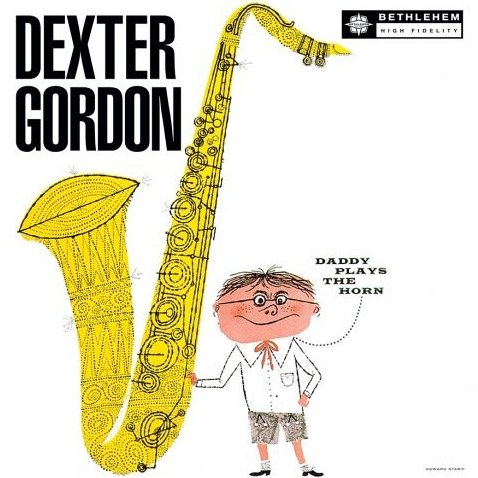 albumcoverDexterGordon-DaddyPlaysTheHorn